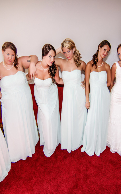 Awesome Bridesmaids WV Wedding