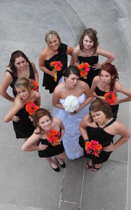 Bridesmaids, charleston