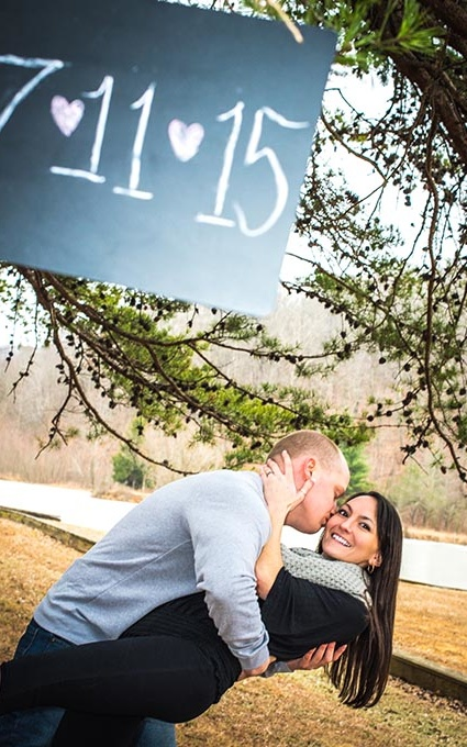 cool engagement photography wv