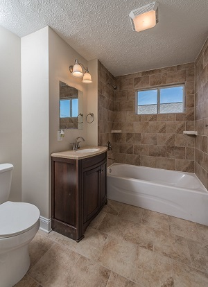 wv homes bathroom by chuck boggs, completed by River Valley Holdings, llc.
