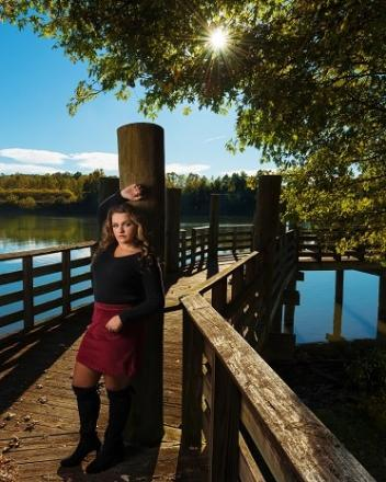 poca high school senior photographers waybright